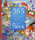 Image for 365 things to draw and paint