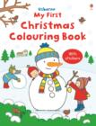 Image for My First Christmas Colouring Book