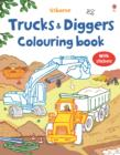 Image for My First Colouring Book with stickers : Trucks and Diggers