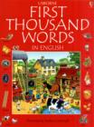 Image for First thousand words in English