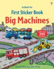 Image for First Sticker Book Big Machines