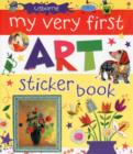 Image for My Very First Art Sticker Book