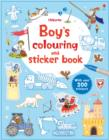Image for Boy's Colouring and Sticker Book