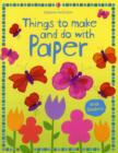 Image for Things to make and do with paper