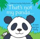 Image for That's not my panda--