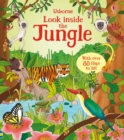 Image for Usborne look inside the jungle  : with over 80 flaps to lift