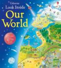 Image for Usborne look inside our world  : with 80 flaps to lift