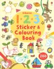 Image for 123 Sticker and Colouring Book