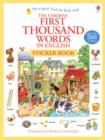 Image for First 1000 Words in English Sticker Book