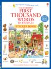 Image for First Thousand Words in French Sticker Book