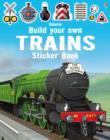 Image for Build Your Own Trains Sticker Book