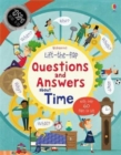 Image for Usborne lift-the-flap questions and answers about time  : with over 60 flaps to lift