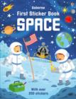 Image for First Sticker Book Space