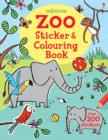 Image for Zoo Sticker and Colouring Book