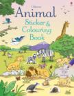 Image for Animal Sticker and Colouring Book