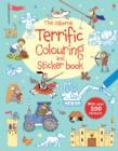 Image for The Usborne Terrific Colouring and Sticker Book