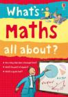 Image for What's maths all about?