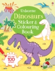 Image for Dinosaurs Sticker & Colouring Book
