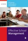 Image for Effective school management