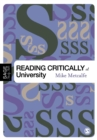 Image for Reading critically at university