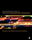 Image for An introduction to critical management research