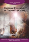 Image for Essential readings in gifted educationVol. 11: Program evaluation in gifted education
