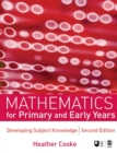 Image for Mathematics for primary and early years
