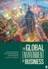 Image for The global environment of business  : new paradigms for international management