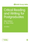 Image for Critical reading and writing for postgraduates