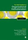 Image for The SAGE handbook of organizational institutionalism