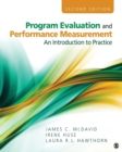 Image for Program evaluation and performance measurement  : an introduction to practice