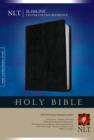 Image for NLT Slimline Center Column Reference Bible, Black