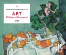 Image for ART: 365 Days of Masterpieces 2018 Desk Calendar