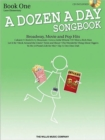 Image for A Dozen A Day Songbook : Piano - Book 1 (Book/Online Audio)