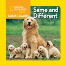 Image for Look and Learn: Same and Different