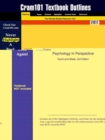 Image for Studyguide for Psychology in Perspective by Wade, Tavris &, ISBN 9780130283269