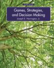 Image for Games, strategies and decision making