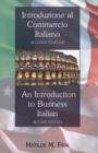 Image for Introduzione al Commercio Italiano- An Introduction to Business Italian : Seconda Edizione- Second Edition