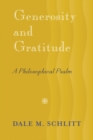 Image for Generosity and gratitude  : a philosophical psalm