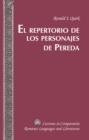 Image for El Repertorio de los Personajes de Pereda