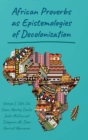 Image for African Proverbs as Epistemologies of Decolonization