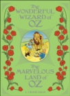 Image for The wonderful wizard of Oz  : The marvelous land of Oz