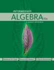 Image for Intermediate algebra  : a guided approach