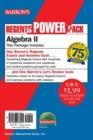 Image for Regents Algebra II Power Pack : Let's Review Algebra II + Regents Exams and Answers: Algebra II