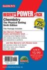 Image for Regents Chemistry Power Pack : Let's Review Chemistry + Regents Exams and Answers: Chemistry