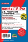 Image for Regents U.S. History and Government Power Pack : Let's Review U.S. History and Government +  Regents Exams and Answers: U.S. History and Government