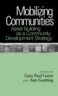 Image for Mobilizing communites  : asset building as a community development strategy
