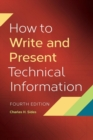 Image for How to write and present technical information