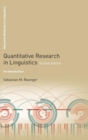 Image for Quantitative research in linguistics  : an introduction