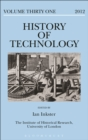 Image for History of technology. : Vol. 31